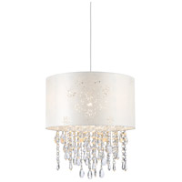 Lumi Glace 3 Light 14 inch Brushed Nickel Pendant Ceiling Light