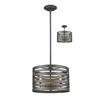 Memphis 3 Light 16 inch Bronze Pendant Ceiling Light