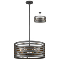 Memphis 6 Light 24 inch Bronze Pendant Ceiling Light