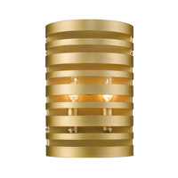 Z-Lite 441-2S-SG Memphis 2 Light 8 inch Satin Gold Wall Sconce Wall Light
