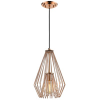 Quintus 1 Light 9 inch Copper Mini Pendant Ceiling Light