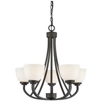 Ashton 5 Light 25 inch Bronze Chandelier Ceiling Light