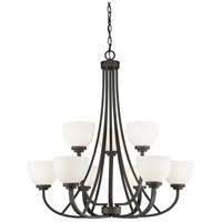 Z-Lite 443-9-BRZ Ashton 9 Light 31 inch Bronze Chandelier Ceiling Light in 25.3