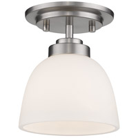 Z-Lite 443F1-BN Ashton 1 Light 6 inch Brushed Nickel Flush Mount Ceiling Light