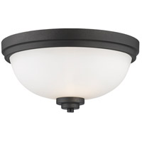 Z-Lite 443F2-BRZ Ashton 2 Light 13 inch Bronze Flush Mount Ceiling Light