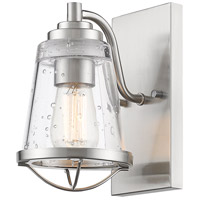 Z-Lite 444-1S-BN Mariner 1 Light 6 inch Brushed Nickel Wall Sconce Wall Light photo thumbnail