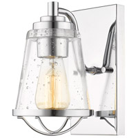 Z-Lite 444-1S-CH Mariner 1 Light 6 inch Chrome Wall Sconce Wall Light