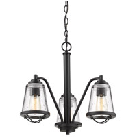 Z-Lite 444-3-BRZ Mariner 3 Light 20 inch Bronze Chandelier Ceiling Light