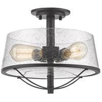 Z-Lite 444SF-BRZ Mariner 3 Light 13 inch Bronze Semi Flush Mount Ceiling Light