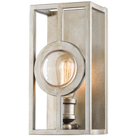 Port 1 Light 6 inch Antique Silver Wall Sconce Wall Light in 6.00