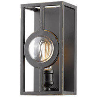 Z-Lite 448-1S-A-OB Port 1 Light 6 inch Olde Bronze Wall Sconce Wall Light in 6.00