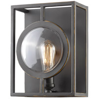 Port 1 Light 9 inch Olde Bronze Wall Sconce Wall Light