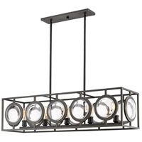 Z-Lite 448-44OB Port 5 Light 14 inch Olde Bronze Pendant Ceiling Light in 44
