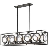 Z-Lite 448-44OB Port 5 Light 14 inch Olde Bronze Pendant Ceiling Light