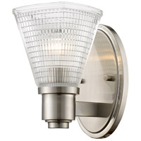 Z-Lite 449-1S-BN Intrepid 1 Light 5 inch Brushed Nickel Wall Sconce Wall Light
