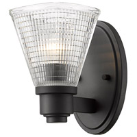 Z-Lite 449-1S-BRZ Intrepid 1 Light 5 inch Bronze Wall Sconce Wall Light