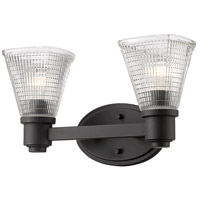 Z-Lite 449-2V-BRZ Intrepid 2 Light 16 inch Bronze Vanity Wall Light