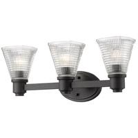 Z-Lite 449-3V-BRZ Intrepid 3 Light 23 inch Bronze Vanity Wall Light