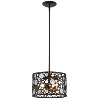 Z-Lite 450-12BRZ Ariell 3 Light 12 inch Bronze Pendant Ceiling Light in 12.00