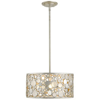 Z-Lite 450-16AS Ariell 5 Light 16 inch Antique Silver Pendant Ceiling Light