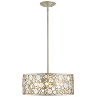 Z-Lite 450-20AS Ariell 6 Light 20 inch Antique Silver Pendant Ceiling Light