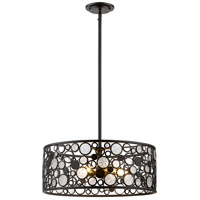 Ariell 6 Light 20 inch Bronze Pendant Ceiling Light in 20.00