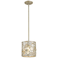 Ariell 1 Light 8 inch Antique Silver Mini Pendant Ceiling Light