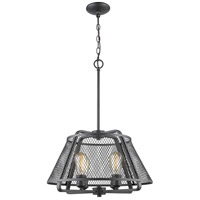 Z-Lite 451-19BRZ Iuka 4 Light 19 inch Bronze Pendant Ceiling Light