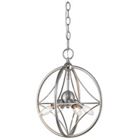 Z-Lite 452-12BN Cortez 4 Light 12 inch Brushed Nickel Pendant Ceiling Light in Brushed Nickel Steel