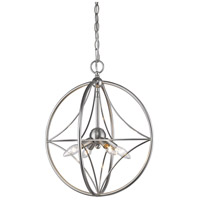 Z-Lite 452-16BN Cortez 4 Light 16 inch Brushed Nickel Pendant Ceiling Light in Brushed Nickel Steel