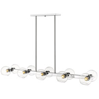 Z-Lite 455-10L-CH Marquee 10 Light 14 inch Chrome Pendant Ceiling Light