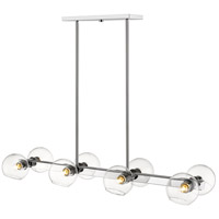 Z-Lite 455-8L-CH Marquee 8 Light 14 inch Chrome Pendant Ceiling Light