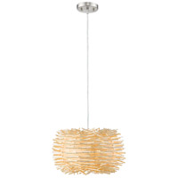 Sora 1 Light 16 inch Brushed Nickel Pendant Ceiling Light