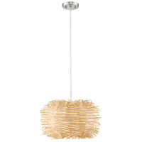 Sora 4 Light 20 inch Brushed Nickel Pendant Ceiling Light