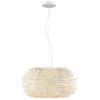 Sora 5 Light 24 inch White Pendant Ceiling Light