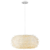 Sora 6 Light 30 inch White Pendant Ceiling Light