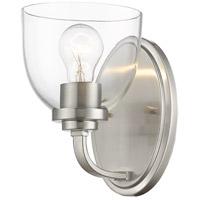 Z-Lite 460-1S-BN Ashton 1 Light 6 inch Brushed Nickel Wall Sconce Wall Light
