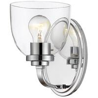 Z-Lite 460-1S-CH Ashton 1 Light 6 inch Chrome Wall Sconce Wall Light