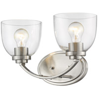 Z-Lite 460-2V-BN Ashton 2 Light 15 inch Brushed Nickel Vanity Wall Light