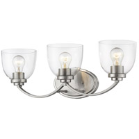 Z-Lite 460-3V-BN Ashton 3 Light 23 inch Brushed Nickel Vanity Wall Light