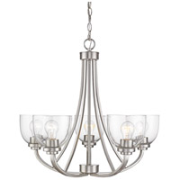 Z-Lite 460-5-BN Ashton 5 Light 25 inch Brushed Nickel Chandelier Ceiling Light