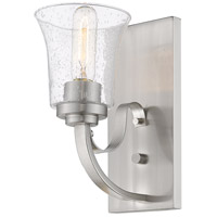 Z-Lite 461-1S-BN Halliwell 1 Light 5 inch Brushed Nickel Wall Sconce Wall Light