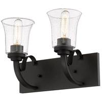 Z-Lite 461-2V-BRZ Halliwell 2 Light 14 inch Bronze Vanity Wall Light