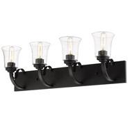Z-Lite 461-4V-BRZ Halliwell 4 Light 30 inch Bronze Vanity Wall Light