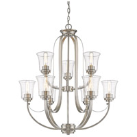 Z-Lite Brushed Nickel Halliwell Chandeliers