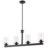 Z-Lite 462-4L-BRZ Savannah 4 Light 40 inch Bronze Island Light Ceiling Light
