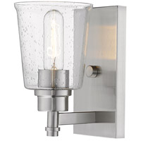 Z-Lite 464-1S-BN Bohin 1 Light 5 inch Brushed Nickel Wall Sconce Wall Light