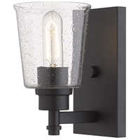 Z-Lite 464-1S-MB Bohin 1 Light 5 inch Matte Black Wall Sconce Wall Light