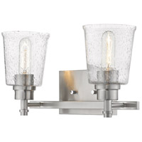 Z-Lite 464-2V-BN Bohin 2 Light 16 inch Brushed Nickel Vanity Wall Light