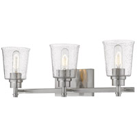 Z-Lite 464-3V-BN Bohin 3 Light 24 inch Brushed Nickel Vanity Wall Light